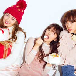 (左から)白石麻衣、鈴木愛理、松井愛莉(画像提供:主婦の友社)