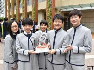 芳根京子、森川葵、萩原みのり…次世代スターが揃いの制服姿でクランクイン
