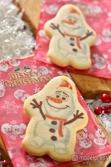 2パーク共通:ストロベリークリームサンドクッキー(C)Disney