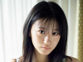 NMB48のグラビアスター・上西怜、純白ランジェリーで圧巻ボディ際立つ