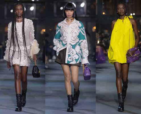 「ヴァレンティノ」手仕事の装飾を軽快に 「ビューティフルピープル」1着に新たな多様性