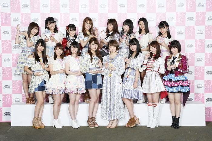 <速報>第8回AKB48選抜総選挙17位~32位「アンダーガールズ」発表(C)AKS