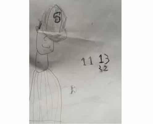 ダルビッシュ聖子、次男が描いた絵を披露「バントをしようとするパパに大興奮」