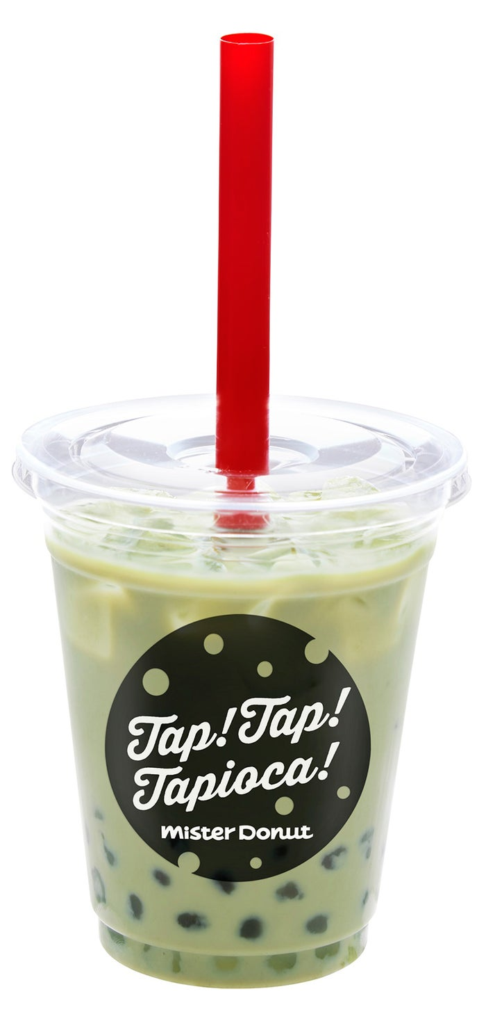 タピオカ 抹茶ミルク/画像提供:ダスキン