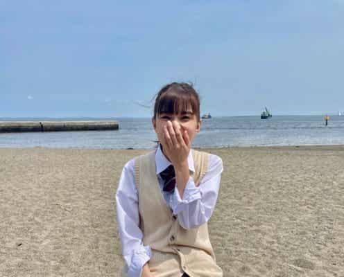 芳根京子、ミニスカ&ポニーテールの女子高生姿を披露「学園のマドンナ感」と絶賛の声