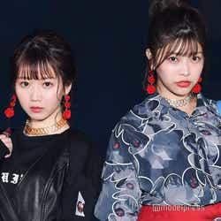 モデルプレス - =LOVE大谷映美里&ラストアイドル石川夏海、2ショットランウェイ 笑顔封印でクールにイメチェン<GirlsAward 2018 A/W>
