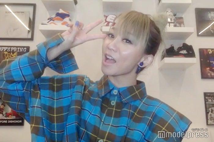 モデルプレスのリモートインタビューに応じた倖田來未(C)モデルプレス