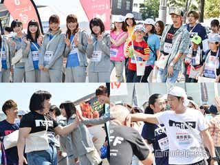 NMB48&EXIT・パンサーら吉本芸人が640人とウォーキング 北海道に歓声響く<みんわらウィーク>