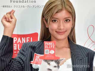 ローラ、瀕死状態の猫を保護していた 殺処分の現状訴え