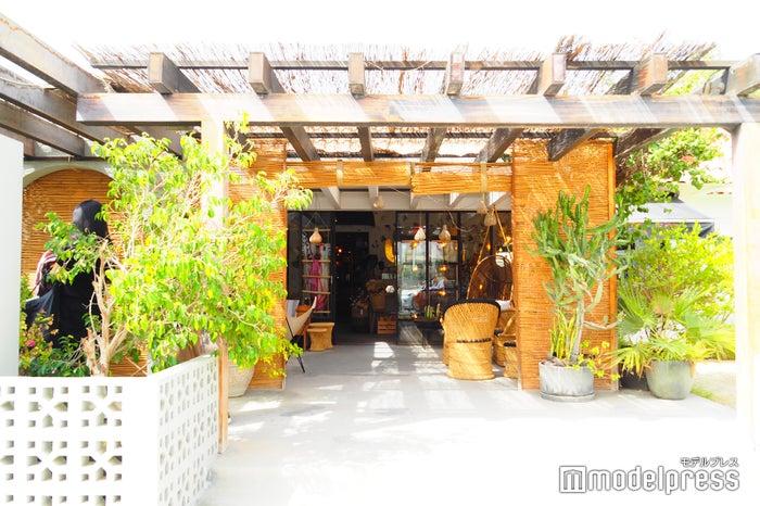 ドバイで人気のオーガニックカフェ「comptoir102」の外観(C)モデルプレス