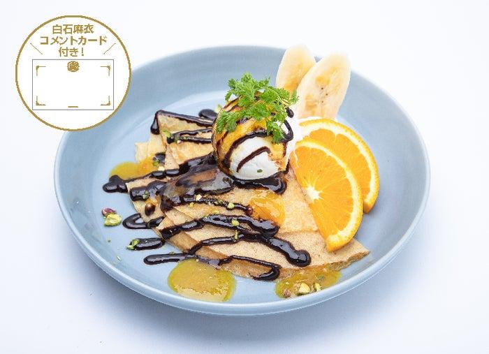 オレンジとバナナのクレープ1,499円(C)乃木坂46LLC
