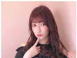 NMB48吉田朱里、ピンクヘアにイメチェン「大人可愛い」の声