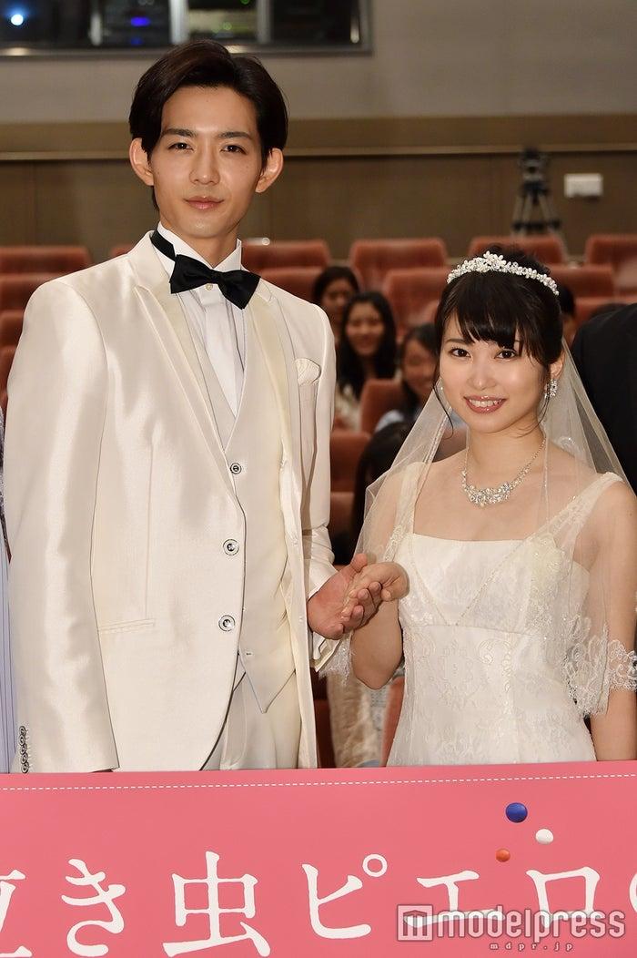 (左から)竜星涼、志田未来(C)モデルプレス