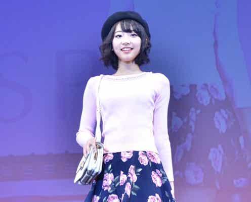 「Popteen」武田玲奈、ミニスカコーデでほっそり美脚披露