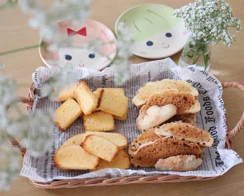夏休みのおやつに!かんたんに作れる菓子パンラスク