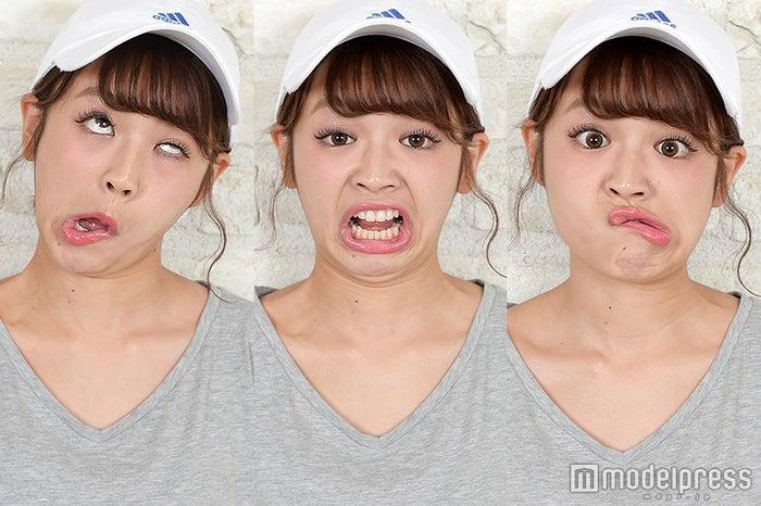 変顔3連発!/mirei(C)モデルプレス