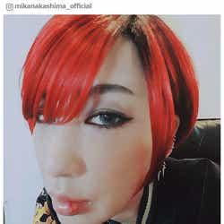 """モデルプレス - 中島美嘉、赤髪""""イケメン""""姿を披露「鼻血でるほどかっこいい」「ドキドキする」と絶賛"""