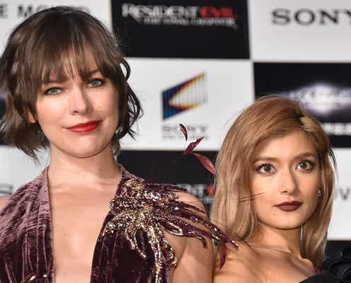 ローラ、ミラ・ジョヴォヴィッチから絶賛「女優としても素晴らしい」