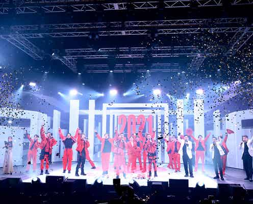 EXILE・三代目JSBらEXILE TRIBE総勢48人集結「RISING SUN TO THE WORLD」幕開け