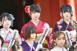 本田そら、藤原あずさ、白雪希明/AKB48グループ成人式記念撮影会 (C)モデルプレス