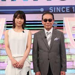 宇多田ヒカル、タモリ(画像提供:テレビ朝日)