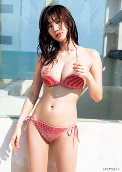 小倉優香(C) 笠井爾示 /ヤングマガジン
