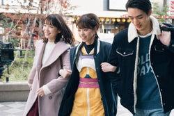 飯豊まりえ、西野七瀬、清水尋也/「電影少女」第5話より(C)「電影少女2018」製作委員会