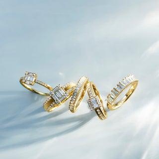 「ベルシオラ」の人気ラインから新作ダイヤモンドリングが登場