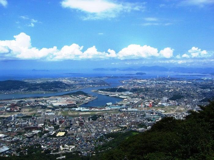 皿倉山展望台/画像提供:皿倉登山鉄道(株)