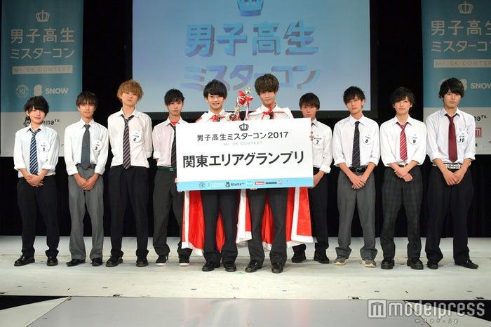 「男子高生ミスターコン2017」関東地方ファイナリスト(C)モデルプレス