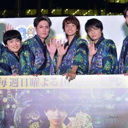(左から)杉野遥亮、加藤諒、間宮祥太朗、小関裕太、岡山天音、甲斐翔真(C)モデルプレス