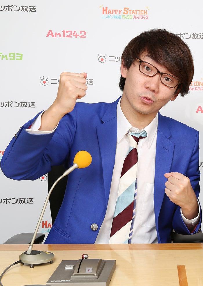 三四郎・小宮浩信(画像提供:ニッポン放送)