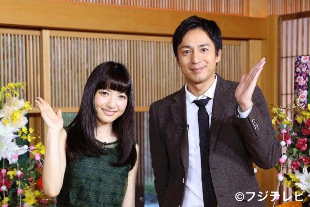 神田沙也加が初MC 「天才的でした」と共演者絶賛(左から)神田沙也加、チュートリアル徳井義実【モデルプレス】