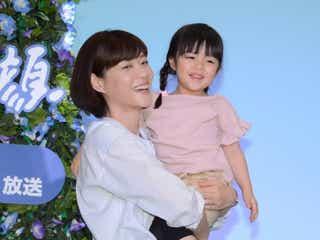 上野樹里、月9で母親役楽しむ「未来を学ばせてもらっています」