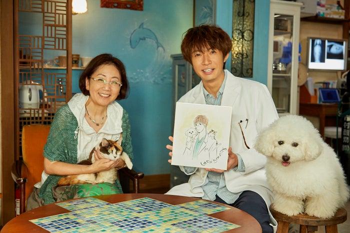 たらさわみち氏、相葉雅紀(C)テレビ朝日