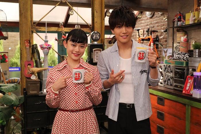 (左から)杉咲花、岩田剛典(写真提供:関西テレビ)