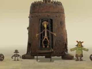 究極のカルト映画『不思議惑星キン・ザ・ザ』のアニメ版が日本上陸