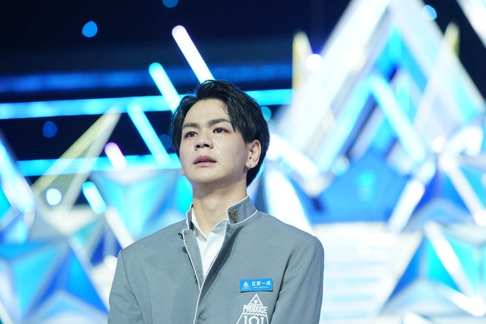 豆原一成「PRODUCE 101 JAPAN」最終回(C)LAPONE ENTERTAINMENT