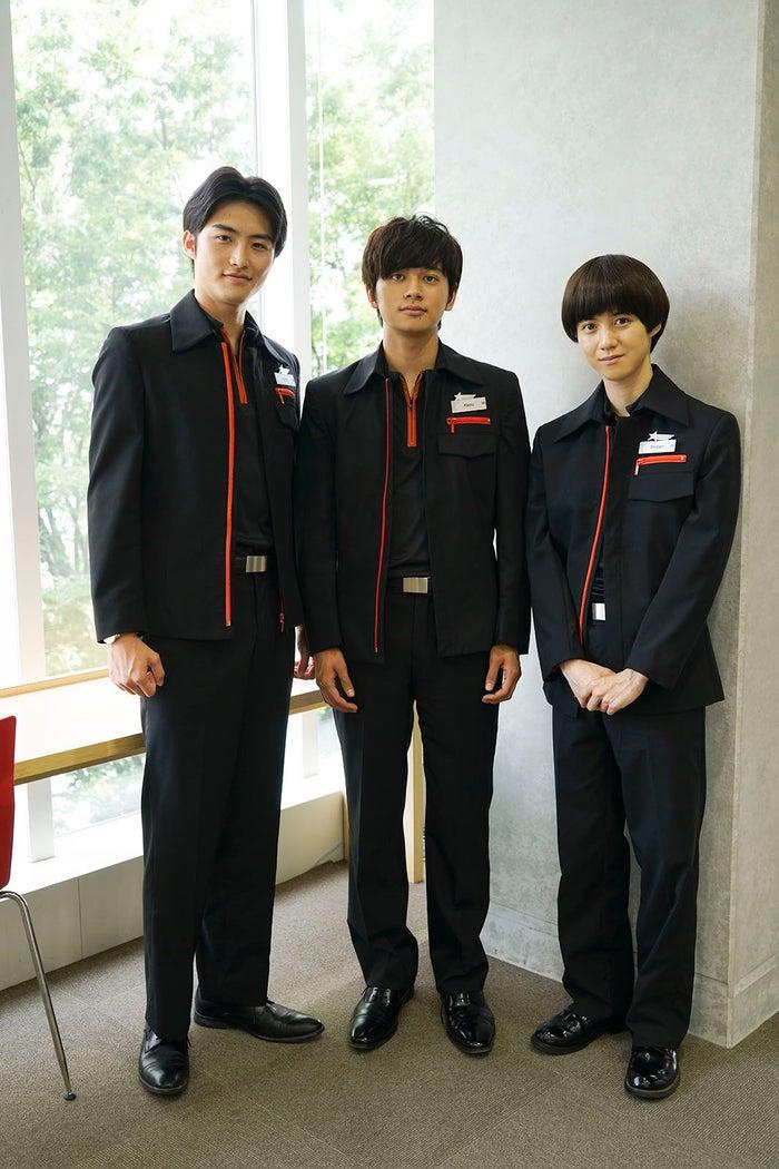 (左から)岐洲匠、北村匠海、小越勇輝(C)関西テレビ