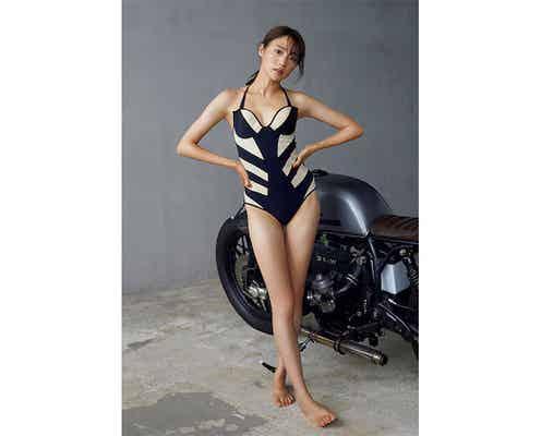 志田友美が『週プレ』に、手足の長さ際立つスレンダー美ボディで圧倒