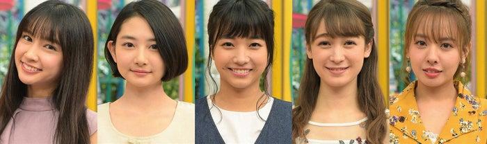 (左から)小泉遥、小室ゆら、坂ノ上茜、藤井サチ、山田菜々(C)TBS