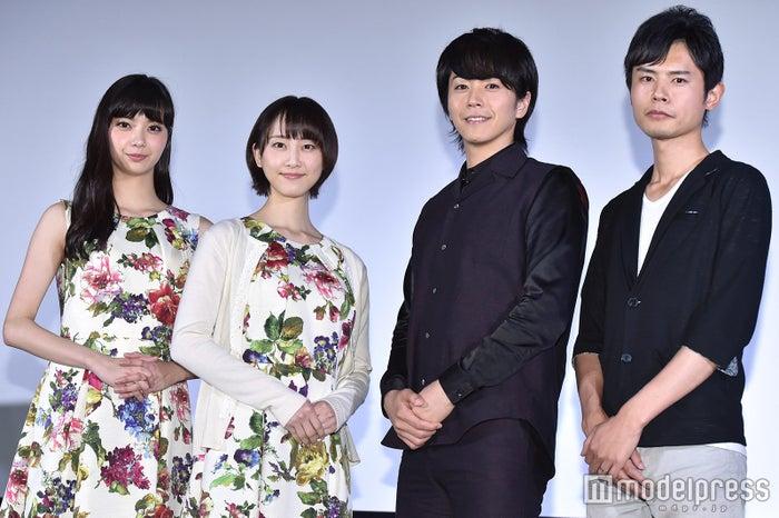 新川優愛、松井玲奈、廣瀬智紀、宮岡太郎監督 (C)モデルプレス