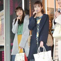 左から:佐藤晴美、楓(C)モデルプレス