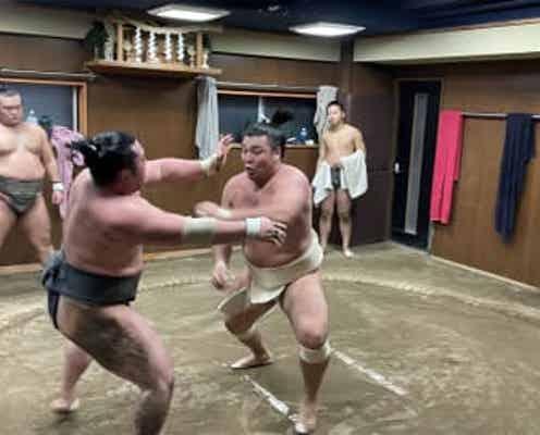 【大相撲】霧馬山が九州場所へ意欲 白鵬引退に「ちゃんと頑張りたい」