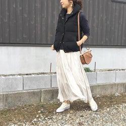 春・秋ファッションへ先行投資♪ 「ベーシックなダウンベスト」は真冬に買うのが正解です!
