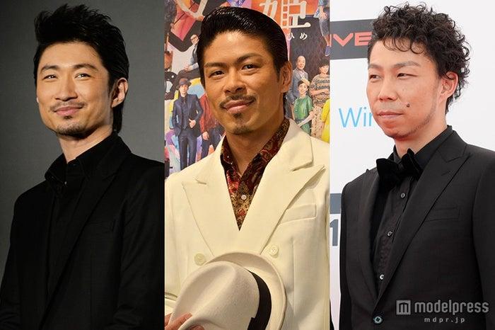 EXILEのパフォーマーを卒業する(左から)MAKIDAI、松本利夫(MATSU)、USA【モデルプレス】