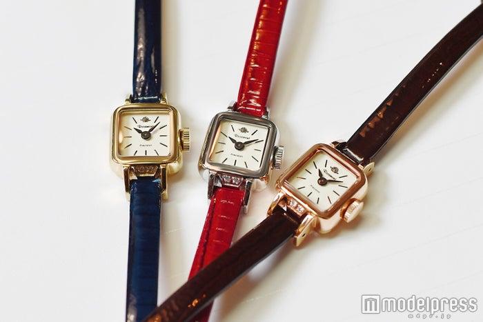 左から「Rosemont(ロゼモン)RS#5-02 DBU」、「RS#5-04 BRD」、「RS#5-06 BR」(C)モデルプレス