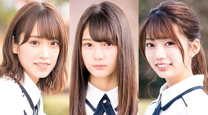 (左から)佐々木久美、小坂菜緒、高本彩花(提供写真)