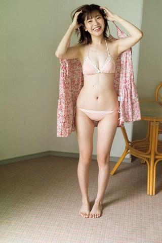 「ラストアイドル」石川夏海、水着でヘルシーボディ披露