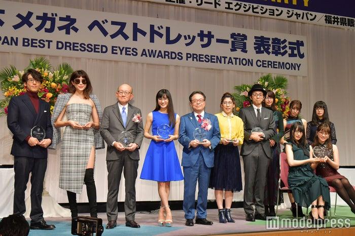 「第30回 日本メガネベストドレッサー賞」授賞式の様子 (C)モデルプレス<br>